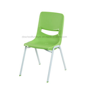 Office Chair Plastic Stackable Student Metal