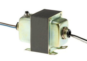 Class 2 CB Electronic Foot and Dual Threaded Hub Mount Transformer