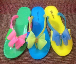 f3887d426cde China Candy Color PVC Jelly Women Flip Flop Lady Shoes - China ...