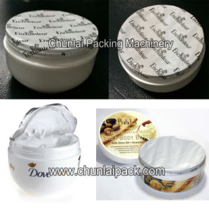 Cosmetic Cream Jar Sealing Machine pictures & photos