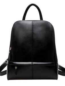 Women S Leather Backpack Handbags Las Daypacks Vintage School Travel Bag