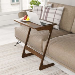 Bamboo Tv Tray Sofa Couch Coffee End Table