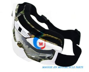 Motorcycle Accessories Motorcycle Goggles of Single Color Elastic Strap pictures & photos