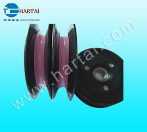 Coil Winding Machine Components Ceramic Wire Guide Pulley