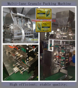 Multi-Lane 4-Side Sealing Salt Packing Machine (salt; food; chemical) pictures & photos