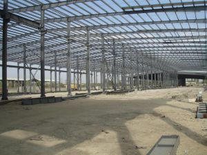 High Steel Structures Pre Fab Buildings