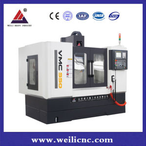 CNC Vertical Machining Center for Stainless Steel Work Piece