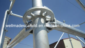 ASTM/Hot DIP Galvanized/Horizontal/Vertical/Scaffolding Ringlock pictures & photos