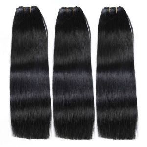 Ladder Order Weft Virgin Unprocessed Peruvian/Brazilian/Indian/Russian/European Human Hair Extension pictures & photos