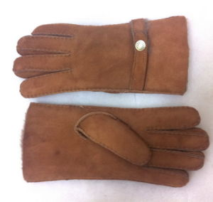Sheepskin Leather Double Face Gloves Hot Sell