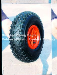 "8""X2.50-4 Polyurethane Rubber Trolley Wheel pictures & photos"