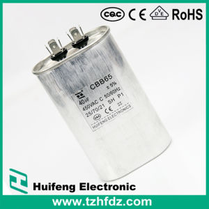 250VAC 40UF Cbb65 Capacitor AC Metallized Polypropylene Capacitor pictures & photos