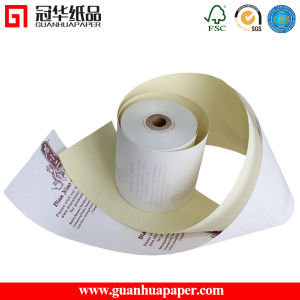 Cash Register Paper Roll 2 Ply Carbonless Printing Paper pictures & photos