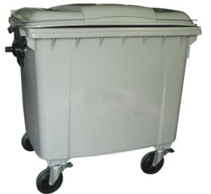 1100L Plastic Garbage Waste Container (FS-801100) pictures & photos