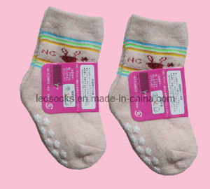 Baby Terry Non Slip Socks (DL-CS-29) pictures & photos
