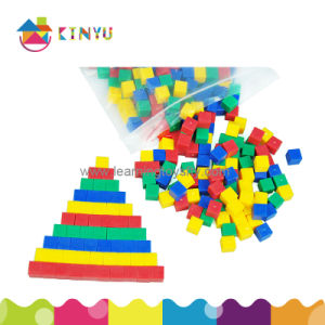 Education Math Toy Plastic Centimeter Counting Cubes pictures & photos