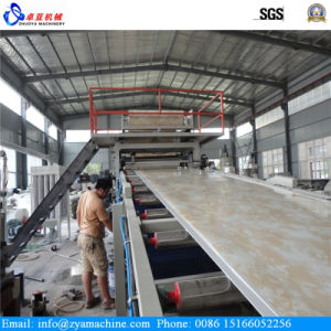 PVC Faux Marble Sheet/Panel Extrusion Machine pictures & photos