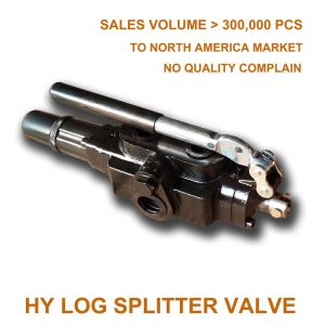 one spool hydraulic directional control valve for wood cutting machine
