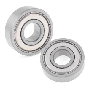 Dual Shielded Sealed Deep Groove Ball Bearing 6000z Bearing