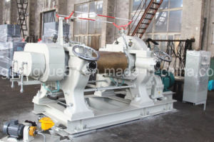 Two Roll Mixing Mill of Bearing Sleeve with Blender pictures & photos