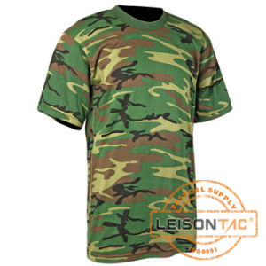 100% Cotton Military T-Shirt with ISO Standard pictures & photos