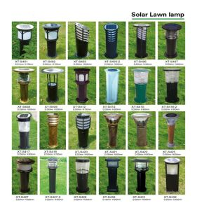 Standalone Candle Type Solar Lawn Light pictures & photos