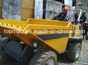 South America Customer Use Topall Brand 3 Ton Dumper pictures & photos