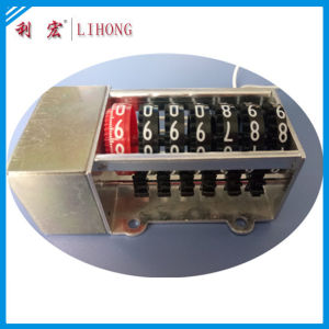 7 Wheels High Quality Stepper Motor Counter Manufacturer From Wenzhou