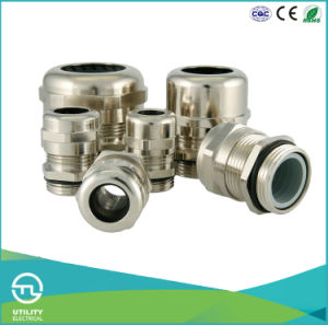Pg Series Metal Brass Nickel Plated Waterproof Cable Glands pictures & photos