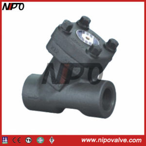Y-Type Forged Steel Check Valve pictures & photos