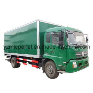 Dry Freight Truck Body with FRP Composite Panel pictures & photos