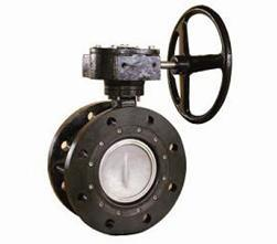 Double Eccentric Double Flanged Butterfly Valve to German Standard Pn10
