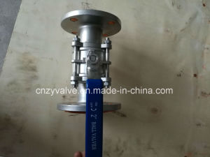 "API 3PCS Flanged SUS304 2"" 1000wog Ball Valve pictures & photos"