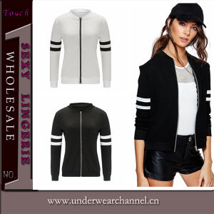 2016 New Design Fashion Women Sports Wear Bomber Jacket (TMK5340) pictures & photos