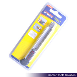 Aluminum Alloy Utility Knife for Office or Home Use (T04024)
