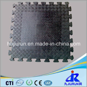 Interlocking Gym Rubber Tile for Flooring pictures & photos