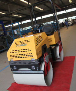1 Ton Ride on Double Drum Hydraulic Bomag Vibratory Roller Compactor pictures & photos