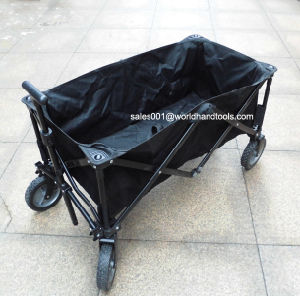 Outdoor Heavy Duty Multi Directions Folding Utility Wagon Black, Blue
