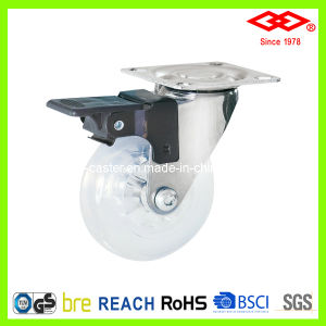 Transparency Material Caster for Skate Board (P170-65B065X23Z) pictures & photos