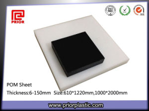 Black POM Sheet with SGS Certificate pictures & photos