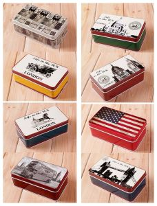 Vintage Jewellery Storage Gift Tin Box (FV-041218) pictures & photos