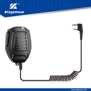 Police Military IP54 Light Duty Shoulder Microphone