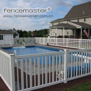 Vinyl Fence for Swimming Pool pictures & photos