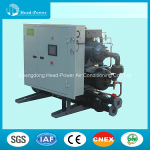 Water, Ground-Source Heat Pump Screw Type Chiller