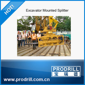 Rotation Type Super Wedge Rock Splitter for Large Rock Demolition pictures & photos