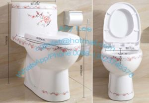 Sanitary Ware European One Piece Water Closet Toilet Jx 3#a