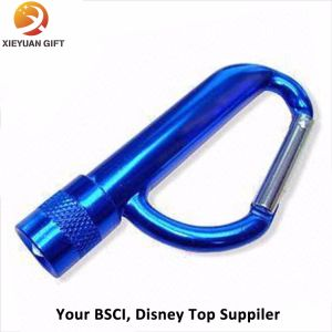 Wholesale Custom Mini Promotional Flashlight LED Keychain pictures & photos