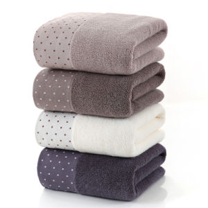 Soft Bath Towel with Stripe, Different Colors Are Available pictures & photos