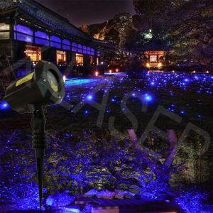 Blue Stars Laser Garden Light Outdoor