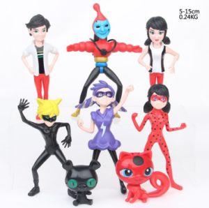 Miraculous Ladybug Action Figures Toys 8PCS Set Cartoon Ladybug Girl  Decoration Model For Children Christmas Gift